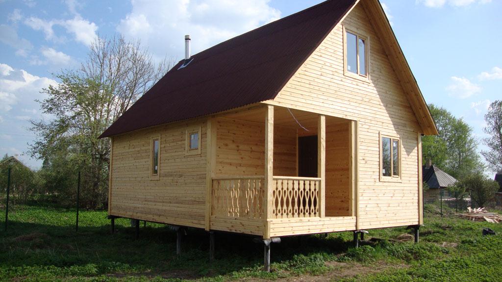 Дома на сваях фото